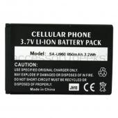 Samsung Rogue U960 Standard Battery 850mAh - Black