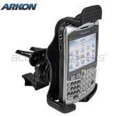 Original Arkon Blackberry Bold 9650 &amp; Tour 9630, Curve 8700, Curve 8900 Removable Air Vent Mount, BB229-SBH - Black