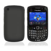 Original Case-Mate Blackberry Curve 3G 9330, 9300, 8520, 8530 Barely There Rubberized Case - Black, BB8520BT-BLK