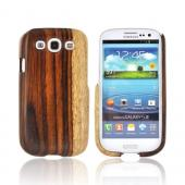 Exclusive TPhone Eco-Design Samsung Galaxy S3 Wood Back Cover Case - Natural Sonokeling Wood