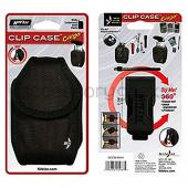 Original Nite Ize Universal Cargo Nylon Case w/ Super Strong Flex Clip - Black (PDA/TREO)