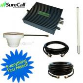 Cellphone-Mate SureCall Dual Band Signal CM2000-WL55dB SOHO Amplifier Kit for Small Room- CHARLIE