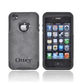Original Otterbox AT&amp;T/ Verizon Apple iPhone 4, iPhone 4S Commuter Series Hard Case on Silicone w/ Screen Protector - Black [OPEN BOX]