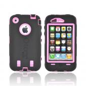 Original Otterbox Apple iPhone 3G 3GS Defender Series Silicone on Hard Case w/ Built-In Screen Protector &amp; Holster - Pink/ Black [OPEN BOX]