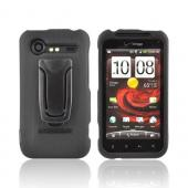 Original Body Glove HTC Droid Incredible 2 Snap-On Case w/ Detachable Kickstand Belt Clip, CRC92166 - Black
