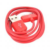 Apple iPhone/ iPod USB Data Cable - Rad Red