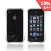 Original Cleave AT&amp;T/ Verizon Apple iPhone 4, iPhone 4S Aluminum Bumper Case, DCB-IP4OA6SV - Silver