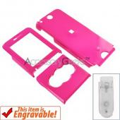 Sony Ericsson W350 Hard Case - Hot Pink