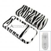 Sony Ericson W760a Hard Case - Zebra