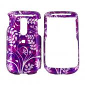 TMobile Dash 3G Hard Case - Floral on Purple