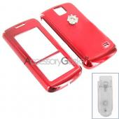 LG Venus Protective Hard Case - Red