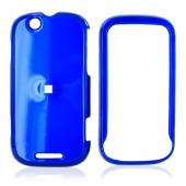 Motorola CLIQ Hard Case - Blue
