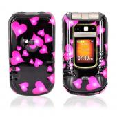 Motorola Brute i680 Hard Case - Floating Hearts
