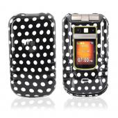 Motorola Brute i680 Hard Case - Polka Dots