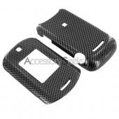 Motorola MotoRAZR VE20 Hard Case - Carbon Fiber