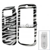Motorola Zine Protective Hard Case - Zebra