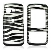 Samsung M330 Hard Case - White/Black Zebra
