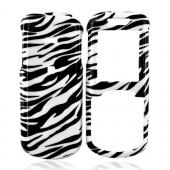 Samsung Stunt R100 Hard Case - White/Black Zebra