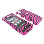 Samsung Finesse R810 Hard Case - Hot Pink Zebra