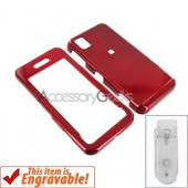 Samsung Finesse Hard Case - Red