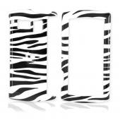 Sanyo Incognito 6760 Hard Case - Black/White Zebra