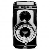 Geeks Designer Line (GDL) Retro Series Samsung Galaxy S3 Slim Hard Back Cover - Black Film Noir Camera