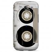 Geeks Designer Line (GDL) Retro Series Samsung Galaxy S3 Slim Hard Back Cover - Clear Cassette