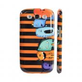 Geeks Designer Line (GDL) Samsung Galaxy S3 Slim Hard Back Cover - ZORGBLATS Line Up