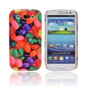 Geeks Designer Line (GDL) Samsung Galaxy S3 Slim Hard Back Cover - Assorted Jelly Beans