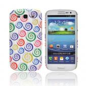 Geeks Designer Line (GDL) Samsung Galaxy S3 Slim Hard Back Cover - Assorted Lollipops