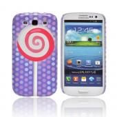 Geeks Designer Line (GDL) Samsung Galaxy S3 Slim Hard Back Cover - Pink Lollipop