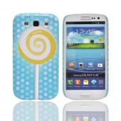 Geeks Designer Line (GDL) Samsung Galaxy S3 Slim Hard Back Cover - Yellow Lollipop