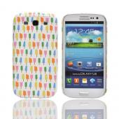 Geeks Designer Line (GDL) Samsung Galaxy S3 Slim Hard Back Cover - Assorted Popsicles