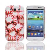 Geeks Designer Line (GDL) Samsung Galaxy S3 Matte Hard Back Cover - Peppermints