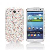 Geeks Designer Line (GDL) Samsung Galaxy S3 Slim Hard Back Cover - SPRINKLES!