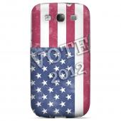 Geeks Designer Line (GDL) 2012 Election Series Samsung Galaxy S3 Slim Hard Back Cover - Vote America