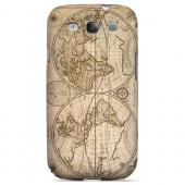 Carte Generale du Monde 1676 - Geeks Designer Line Map Series Hard Case for Samsung Galaxy S3