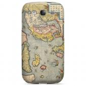Ancient Map of Europe - Geeks Designer Line Map Series Hard Case for Samsung Galaxy S3