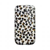 Albino Leopard Print Animal Series GDL Ultra Slim Hard Case for Samsung Galaxy S3 Geeks Designer Line
