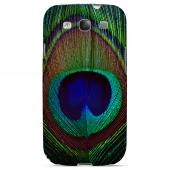 Colorful Peacock Feather Animal Series GDL Ultra Matte Hard Case for Samsung Galaxy S3 Geeks Designer Line