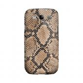 Rattlesnake Skin Animal Series GDL Ultra Slim Hard Case for Samsung Galaxy S3 Geeks Designer Line