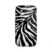Zebra Print Animal Series GDL Ultra Slim Hard Case for Samsung Galaxy S3 Geeks Designer Line