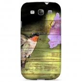 Hummingbird Impact Resistant Geeks Designer Line Asian Print Series Hard Case for Samsung Galaxy S3