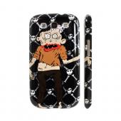 Geeks Designer Line (GDL) Samsung Galaxy S3 Slim Hard Back Cover - Zombie w/ Skull &amp; Crossbones