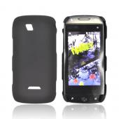 Premium Sidekick 4G Rubberized Hard Back Cover - Black