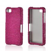 Hot Pink Gems Bling Hard Case for Blackberry Z10