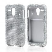 Silver Bling Hard Case for Kyocera Hydro Edge
