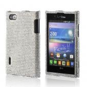 Silver Bling Hard Case for LG Intuition VS950