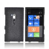 Nokia Lumia 900 Bling Hard Case - Black Gems