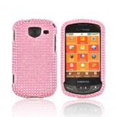 Samsung Brightside U380 Bling Hard Case - Pink Gems